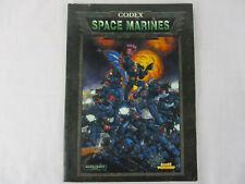Codex SPACE MARINES Warhammer 40000 Miniatures Gaming RPG Games Workshop!!