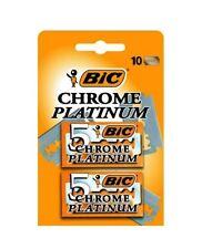 Bic Chrome Platinum hojas de afeitar 10 unidades