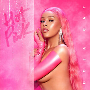 HD Print For Doja Cat  Hot Pink Art Music Poster Wall Decor Painting