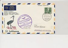 LM68696 Japan 1969 to USA special flight airmail cover used
