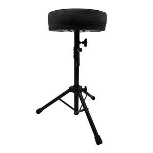 Thor Padded Drum Stool Seat Throne Piano Chair Folding Music Guitar Keyboard