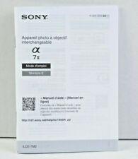 Sony 7II E Mount Instruction Manual User's Guide SPANISH LNC (330)