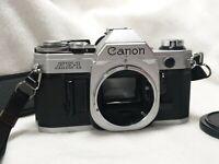 Canon AE-1 35mm  analoge Spiegelreflexkamera SLR