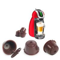 Refillable Reusable Coffee Capsule Pods Cup for Nescafe Dolce Gusto Machine X6P1