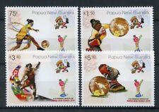 Papua New Guinea 2016 MNH U-20 Women's World Cup Football 4v Set Soccer Stamps