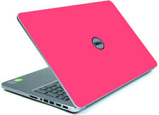HOT PINK Vinyl Lid Skin Cover Decal fits Dell Inspiron 15 7537 Laptop