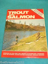 TROUT AND SALMON - SALMON RETURN MIGRATION - MARCH 1980