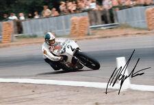 Giacomo AGOSTINI main signé Yamaha 12x8 photo 4.