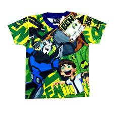 BEN 10 OMNIVERSE boys toddler vibrant summer t-shirt Size 1 Age 12-18m Free Ship