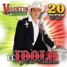 El Idolo y Sus Canciones by Valentin Elizalde (CD, Apr-2007, Univisio NEW Sealed
