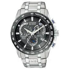 -NEW- Citizen AT4010-50E Titanium, Atomic, Chrono, Eco-Drive Watch