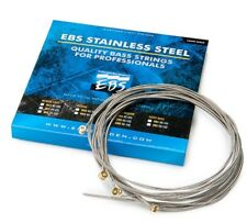 EBS Stainless Steel Strings For Bass Guitar Classic Medium 4 Pack