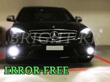 Mercedes Classe C W204 Xenon 6000K Blanc DEL Côté Ampoules-ERREUR mise à niveau Gratuite