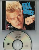 BILLY IDOL Idol Songs JAPAN CD w/OBI TOCP-5973 '89 1st issue NO OBI. NO INSERT