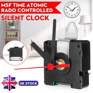 UK MSF Time Atomic Radio Controlled Silent Clock Movement Mechanism Hand Kit