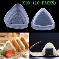1-10XTriangle Form Mould Sushi DIY Onigiri Rice Ball Bento Press Maker Mold Tool