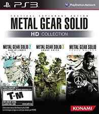 PS3 ACTION-METAL GEAR SOLID HD COLLECTION  (US IMPORT)  GAME NEW