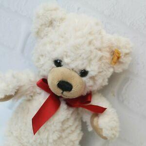 "Steiff Sweetheart Cream Soft Teddy Bear 109904 Stuffed Plush Only No Box 9"""