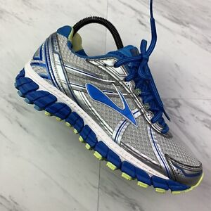 Women's Brooks Adrenaline GTS 15 Running Athletic Shoes (Size 8) Blue Gray O1-8