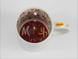Sublimation Merry Christmas Mugs 11oz for Heat Press Inner & Handle Printed 36pc