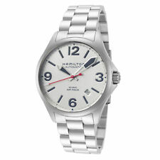 Hamilton Men's Khaki Aviation H76225151 38mm Silver Dial SS Automatic Watch