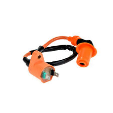 Racking Round AC Fired 6 Pins CDI +Ignition Coil +Spark Plug for Gy6 50cc 125cc