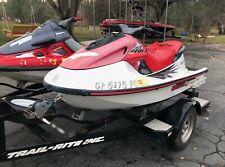 1997 Yamaha Gp1200 & 1997 Kawasaki 1100Stx Jet Skis & Trailer - California