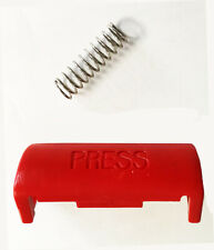 Volvo 240 740 940 850 245 press seat belt buckle release button with spring new (Fits: Volvo 940)