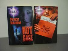 "2 MILLS & BOON ""BOMBSHELL"" ROMANCES - HOT CASE & DEVIL'S BARGAIN - POSTAGE $5.80"