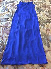 Beautiful XL Blue Women Long Maxi Dress Ladies Dress Gorgeous NEW !!