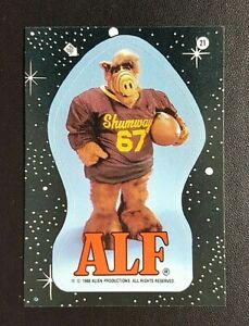 1988 Topps 2nd Series ALF Sticker - No.21