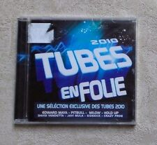 "CD AUDIO MUSIQUE / VARIOUS ""2010 TUBES EN FOLIE"" 20T CD COMPILATION 2010 NEUF"