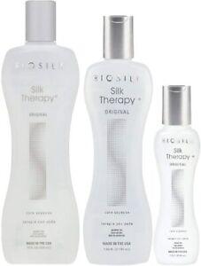 19.89 Fl oz BioSilk Silk Therapy Cure Serum Bundle