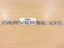 """New OEM Rear Emblem """"TRAVERSE LTZ"""" - 2009-2017 Chevrolet Traverse (20896271)"""