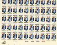 Scott #1756.. 15 Cent....George M. Cohan  ..  Sheet of  50