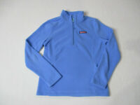 Vineyard Vines Quarter Zip Sweater Womens Extra Small Light Blue Whale Ladies