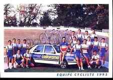 Team CASTORAMA 93 Cycling cyclisme Bourguignon Thierry Madouas Gaumont Philippe