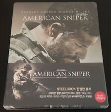 AMERICAN SNIPER Blu-Ray SteelBook NovaMedia Korea Ltd Ed Region Free OOP & Rare!