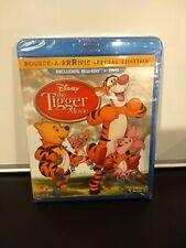 Winnie the Pooh - The Tigger Movie (Blu-ray Disc, 2012, 2-Disc Set) Brand New