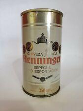 HENNINGER STRAIGHT STEEL PULL TAB BEER CAN OCOC ARGENTINA