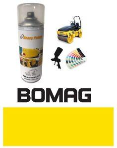 Bomag Roller Yellow Paint High Endurance Enamel Paint 400ml Aerosol