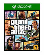 GRAND THEFT AUTO V XBOX ONE 1 GTA 5 cinque