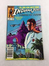 Indiana Jones & the Temple of Doom Sept Vol 1 No 1 1984 Marvel Comic Book