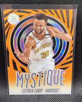 Stephen Curry Mystique Orange SSP 2019-20 Panini Illusions #9 Warriors