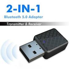 Auto Bluetooth V5.0 Aux Audio Adapter Blütooth Transmitter Empfänger USB Stick