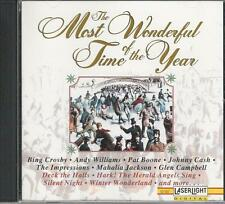 Music CD The Most Wonderful Time of the Year