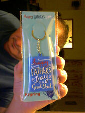 DAD PHOTO KEY RING GREAT BIRTHDAY GIFT!  FREE UK POST