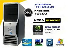 DELL Precision T3500 Xeon X5650, 16GB DDR3, 1000GB HDD,  Quadro 600 Card