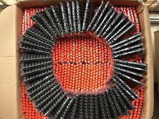 100PCS Bullet Darts Toy Gun Round Head Blasters Children For NERF N-Strike BlacK