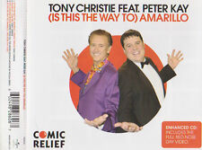 TONY CHRISTIE FEAT.PETER KAY (IS THIS THE WAY TO) AMARILLO 3 TRACK CD & VIDEO